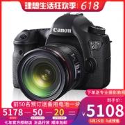 618预售:Canon 佳能 EOS 6D 全画幅单反相机 单机身 5108元包邮(需100元定金)