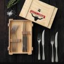 WMF 福腾宝 Steakbesteck系列 不锈钢餐叉12件套 Prime会员免费直邮含税到手249元