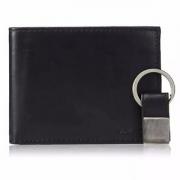 Calvin Klein 男士皮革折叠短款钱包 带钥匙扣 Prime会员凑单直邮含税
