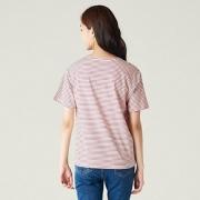 8seconds 328442SYD 女式韩版夏季新款休闲棉麻T恤34元