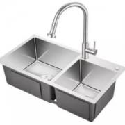 KEGOO科固K10020不锈钢厨房水槽龙头套装