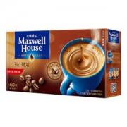 麦斯威尔 特浓速溶咖啡 60条 780克/盒 *4件