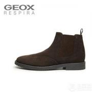 限UK10码,Geox 健乐士 U Brandled A 男士切尔西踝靴 Prime会员免费直邮含税