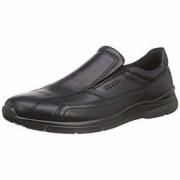 限尺码:Ecco 爱步 欧文系列 男士真皮一脚蹬休闲鞋 488.22元+44.42元含税直邮约533元