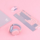 ROG STRIX FLARE 耀光机械游戏键盘 PINK Baby 甜心限定系列少女粉色版 青轴 1199元包邮(满减)1199元包邮(满减)