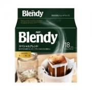 AGF Blendy系列 挂耳咖啡 原味咖啡 无糖 7g*18袋 *9件