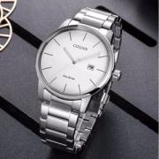 Citizen 西铁城 BM6960-56A 光动能大表盘男士腕表