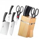 ASD 爱仕达 RDG05H2WG 不锈钢刀具 五件套低至59元(399-200后)