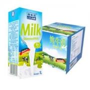 LVLINB 绿林贝 超高温灭菌 脱脂纯牛奶 1L*6盒 *5件