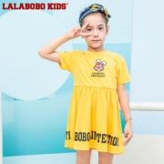 LALABOBO 儿童连衣裙 L02B-KLDQ23  券后150.72元