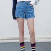 LEE X-LINE 女士牛仔短裤
