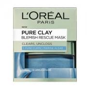 L'OREAL PARIS 巴黎欧莱雅 Pure Clay 矿物泥排毒面膜 蓝色海藻泥 50ml Prime会员凑单免费直邮含税