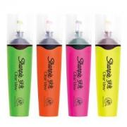 Sharpie锐意360°透明笔头荧光笔四色套装*5件68.75元(合13.75元/件)