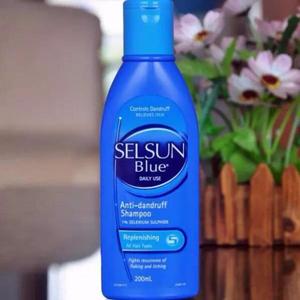 Selsun Blue 去屑止痒洗发水 200ml*2瓶*3 (蓝盖)