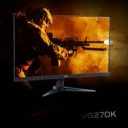 Acer 宏碁 VG270K 27英寸 4K IPS显示器