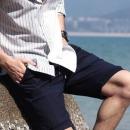 INTERIGHT男款五分牛仔短裤低至41.4元