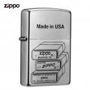 ZIPPO之宝特殊的记忆锻纱镀铬彩印205-01500899元包邮(需用券)