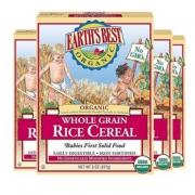 Earths best 地球世界 强化铁糙米粉婴儿米粉 1段 *15件 +凑单品 216.39元包邮(合14.43元/件)