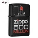 ZIPPO 之宝 防风打火机 纪念时刻 黑哑漆彩印 79.1元包邮(双重优惠后)¥79