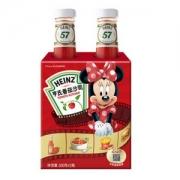 Heinz 亨氏  迪士尼 瓶装番茄酱番茄沙司 300g*2瓶