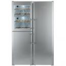 利勃海尔 LIEBHERR SBSes7165 699升 独立式带酒柜对开三门冰箱 96800元96800元