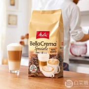 Melitta 美乐家 Bella Crema 中度烘焙 100%阿拉比卡咖啡豆1000g Prime会员凑单免费直邮含税到手129元
