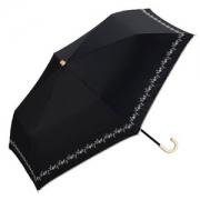 W.P.C 防紫外线 轻量折叠晴雨伞 黑色 prime会员凑单免费直邮含税