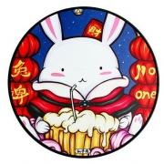 JANE WYATT 简·悦 中国风 锁边鼠标垫 300*3mm圆形/900*400*4mm长方形 8.8元/28.8元包邮(需用券)¥9