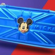 ¥14.8 3D米奇头蓝色笔袋文具盒 送铅笔5支