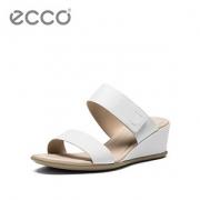 ECCO爱步 优雅通勤坡跟凉鞋女 舒适轻便女鞋 型塑35坡跟250103