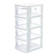 Citylong禧天龙塑料收纳柜四层/40L*2件+凑单品