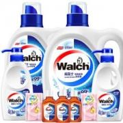Walch威露士有氧洗衣液8.18斤套装(洗衣液2.25kgx1和1kgx1+内衣净280gx2+消毒液60mlx3+柔顺剂50mlx2)*4件