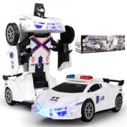 遥控变形车机器人儿童男孩玩具车