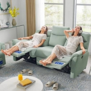 CHEERS 芝华仕 5991 头等舱布艺功能沙发组合 三人位新低3079元包邮(双重优惠)
