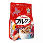 : Calbee 卡乐比 北海道产富果乐水果麦片 700g *3件  96.73元含税