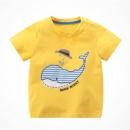 Hamqi 哈咪奇 宝宝短袖T恤 *4件 62.8元包邮(需用券,合15.7元/件)¥63