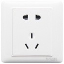 Schneider Electric 施耐德 睿意白系列 五孔插座面板 4.91元包邮(需用券)¥5
