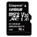 Kingston 金士顿 Class10 UHS-I MicroSD(TF)储存卡 128GB 98.9元¥99