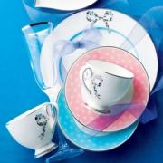 Narumi 鸣海 Felicita系列 双人骨瓷咖啡杯碟套装 Prime会员免费直邮含税到手292.75元