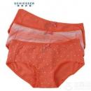 Schiesser 德国舒雅 女士舒美棉平角内裤 3条装凑单低至56.3元
