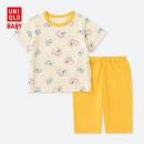 UNIQLO 优衣库 婴幼儿Peppa Pig睡衣(短袖) 41379549元包邮