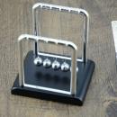 z字形状电镀牛顿摆球 能量守恒科教永动摆件 9.9元包邮 限今天¥10