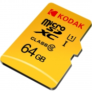 Kodak 柯达 microSDXC UHS-I U1 TF存储卡 64GB 39.9元包邮