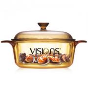 VISIONS康宁VS-12晶彩透明锅1.25L89.1元包邮(1件9折)