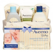 Aveeno 艾维诺 日常婴儿护理母婴礼品6件套装 Prime会员凑单免费直邮含税到手213.79元