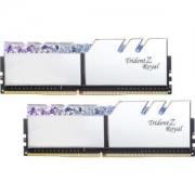G.SKILL芝奇TridentZRoyal皇家戟DDR4台式机内存(16GB*2、3200频率、铠甲银)