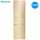 Hisense 海信 BCD-220D/Q  三门冰箱 220L 1079元包邮(双重优惠)¥1079
