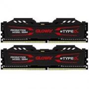 GLOWAY 光威 TYPE-α系列 DDR4 16GB(8GBx2) 2666 台式机内存(石墨灰) 399元包邮