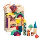 B.Toys比乐BX1361Z积木套装40件带收纳袋低至64.5元(3件5折)