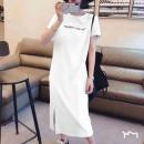 夏季新款女长款T恤连衣裙¥10